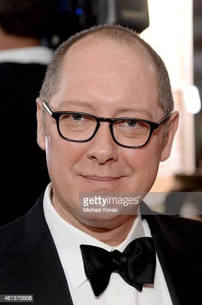 Actor James Spader attends the 72nd Annual Golden Globe Awards at The Beverly Hilton Hotel on January 11 2015 in Beverly Hills California
