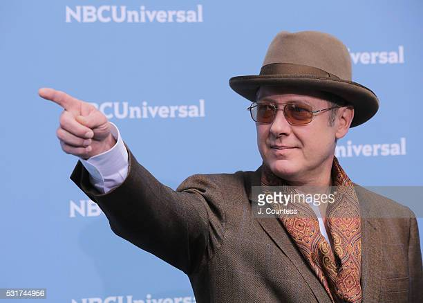 Actor James Spader attends the NBCUniversal 2016 Upfront at Radio City Music Hall on May 16 2016 in New York City