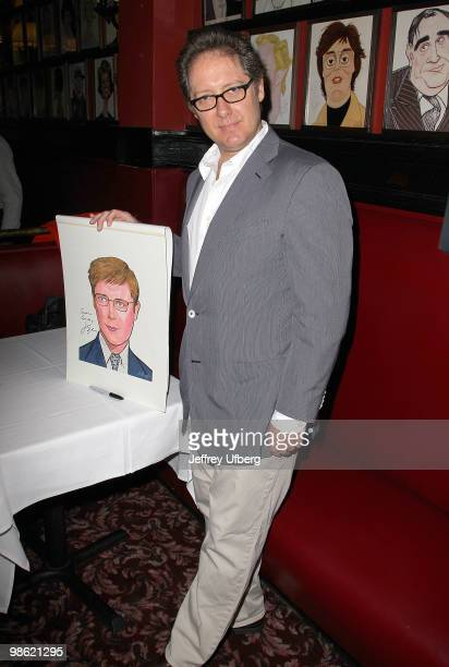 Actor James Spader attends the portrait unveiling for the cast of 'RACE' at Sardi's on April 22 2010 in New York City