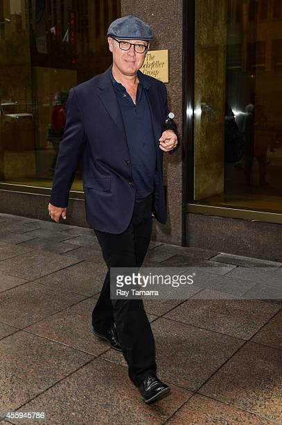 Actor James Spader enters the Sirius XM Studios on September 22 2014 in New York City