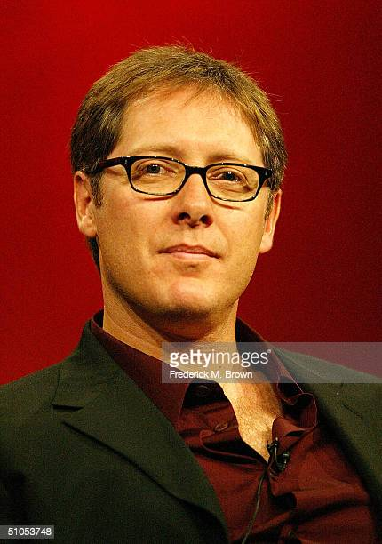 Actor James Spader of Boston Legal speaks with the media at the ABC Summer TCA Press Tour Day 1 at the Century Plaza Hotel June 12 2004 in Los...