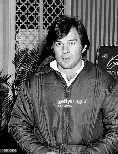 Actor James Stacey attending Third Annual Chuck Connors Charity Golf Dinner Dance on April 19 1969 at the Canyon Hotel in Palm Springs California