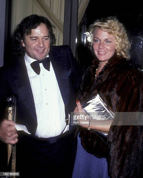 Actor James Stacy and date attend the premiere party for 'Hide In Plain Side' on March 17 1980 at the Beverly Wilshire Hotel in Beverly Hills...