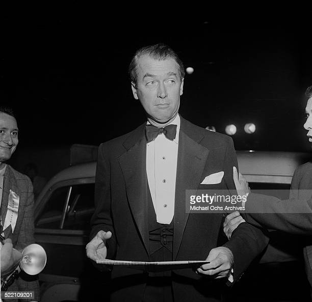 Actor James Stewart attends an event in Los AngelesCA