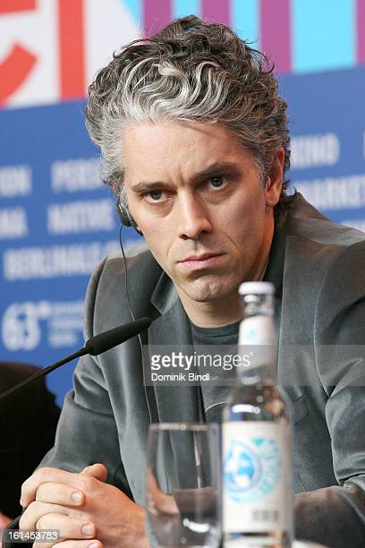 Actor James Thierree attends the 'Love Battles' Press Conference during the 63rd Berlinale International Film Festival at the Grand Hyatt Hotel on...