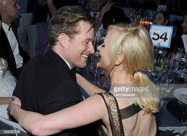 Actor James Tupper and actress Anne Heche attend the 20th Annual Elton John AIDS Foundation Academy Awards Viewing Party at The City of West...