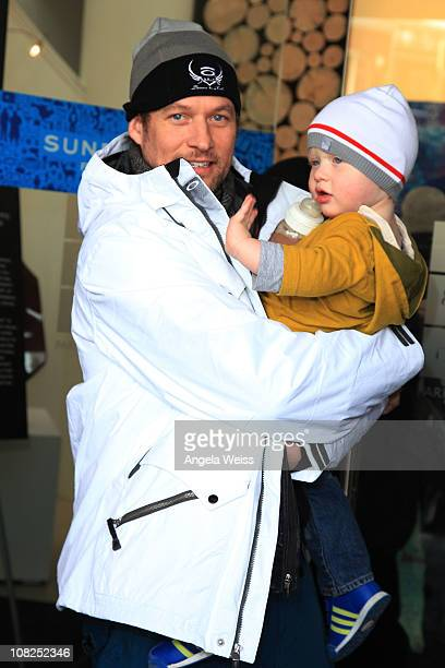 Actor James Tupper attends the Oakley Learn to Ride Fueled by Muscle Milk and Lounge on January 22 2011 in Park City Utah
