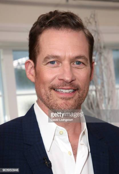 Actor James Tupper visits Hallmark's 'Home Family' at Universal Studios Hollywood on January 11 2018 in Universal City California