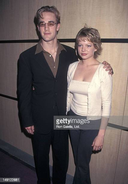 Actor James Van Der Beek and actress Michelle Williams attend the 36th Annual National Association of Television Program Executives Convention and...