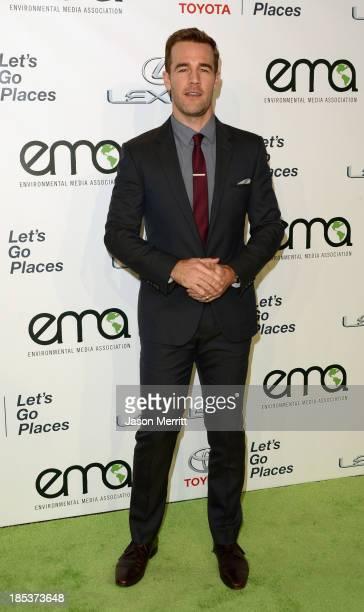 Actor James Van Der Beek arrives at the 23rd Annual Environmental Media Awards presented by Toyota and Lexus at Warner Bros. Studios on October 19,...