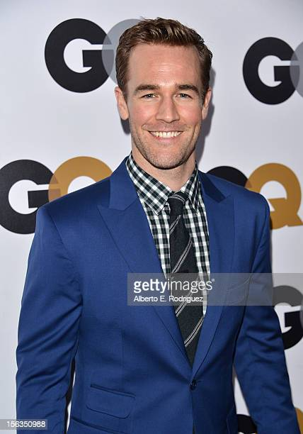 Actor James Van Der Beek arrives at the GQ Men of the Year Party at Chateau Marmont on November 13 2012 in Los Angeles California