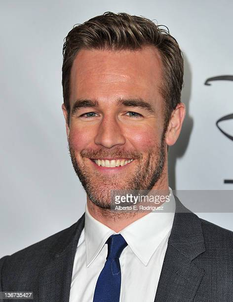 Actor James Van Der Beek arrives to the Disney ABC Television Group's TCA Winter Press Tour on January 10 2012 in Pasadena California