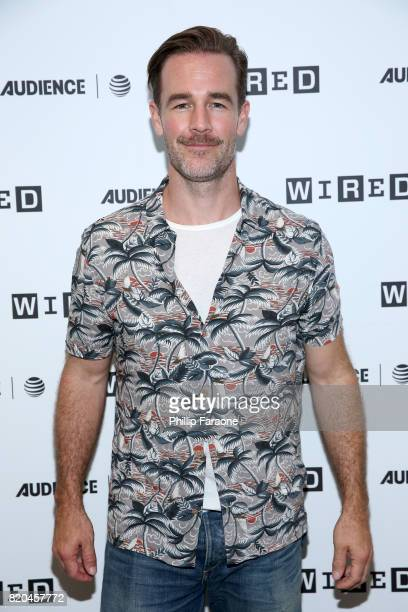 Actor James Van Der Beek at 2017 WIRED Cafe at Comic Con presented by ATT Audience Network on July 21 2017 in San Diego California
