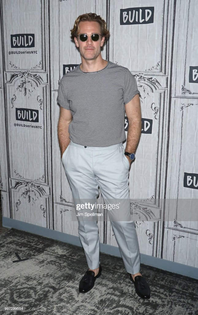 Actor James Van Der Beek attends the Build Series to discuss 'Pose' at Build Studio on July 12, 2018 in New York City.