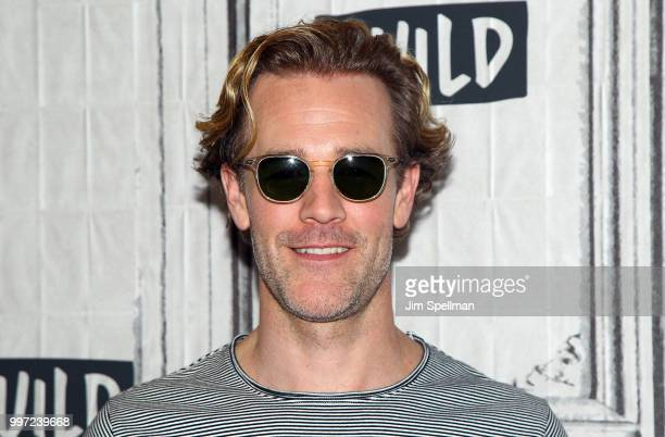 Actor James Van Der Beek attends the Build Series to discuss 'Pose' at Build Studio on July 12 2018 in New York City