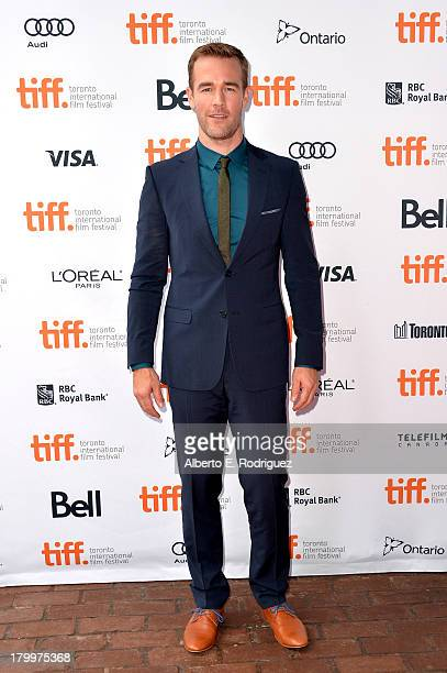 """Actor James Van Der Beek attends the """"Labor Day"""" premiere during the 2013 Toronto International Film Festival at Ryerson Theatre on September 7, 2013..."""