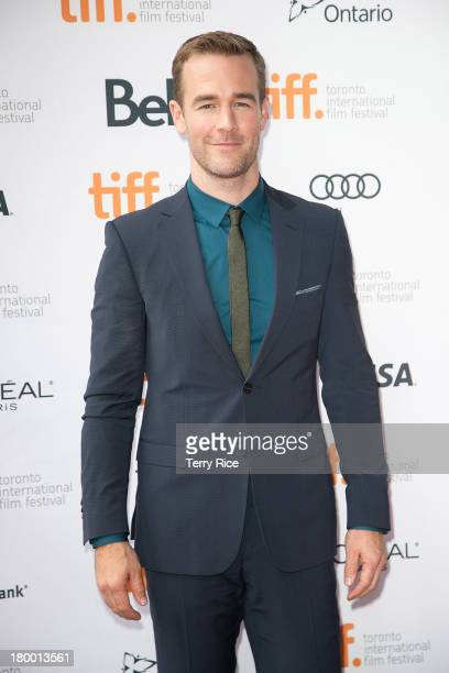 Actor James Van Der Beek attends the 'Labor Day' premiere during the 2013 Toronto International Film Festival at Ryerson Theatre on September 7 2013...