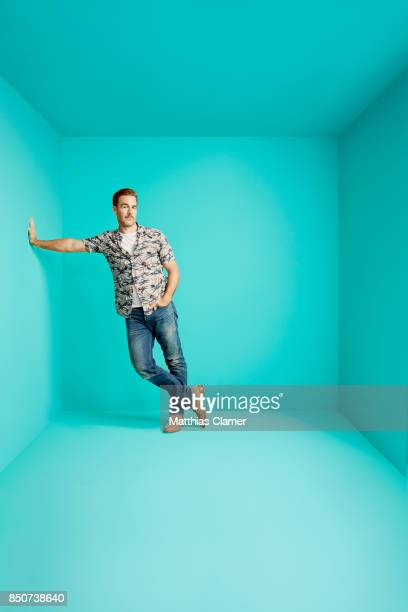 Actor James Van Der Beek from What Would Diplo Do is photographed for Entertainment Weekly Magazine on July 21 2017 at Comic Con in San Diego...