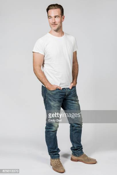 Actor James Van Der Beek is photographed for New York Times on July 6 2017 in Los Angeles California