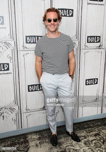 Actor James Van Der Beek visits Build studio on July 12 2018 in New York City