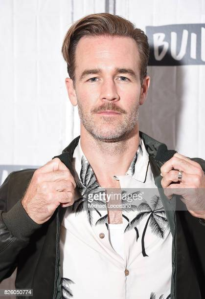 Actor James Van Der Beek visits the Build Series to discuss his new show What Would Diplo Do at Build Studio on August 3 2017 in New York City