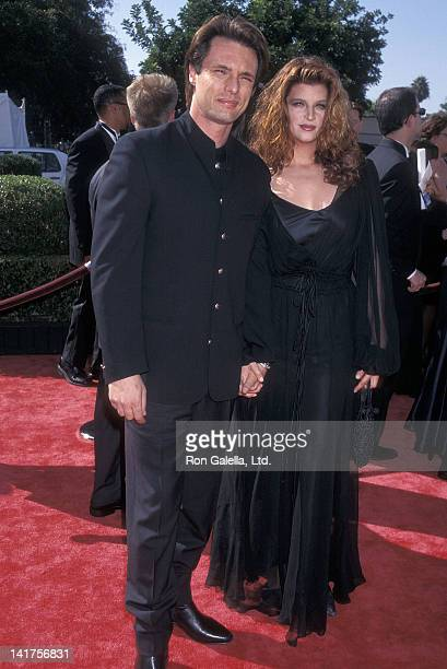 Actor James Wilder and actress Kirstie Alley attend the 50th Annual Primetime Emmy Awards on September 13 1998 at the Shrine Auditorium in Los...