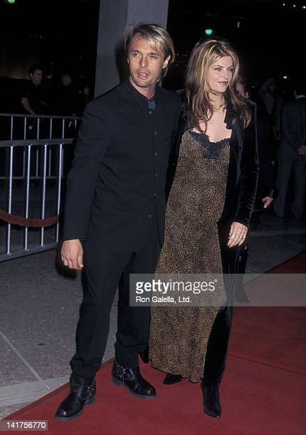 Actor James Wilder and actress Kirstie Alley attend the For Richer or Poorer Century City Premiere on December 4 1997 at the Cineplex Odeon Century...