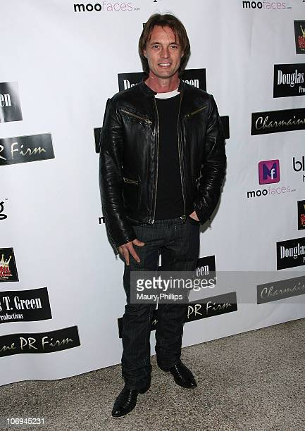 Actor James Wilder arrives at ShaBoom Costmetics Launch Party on November 17 2010 in Beverly Hills California