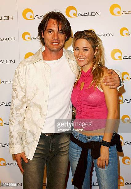 Actor James Wilder arrives at the Grand Debut of the Avalon Nightclub on October 3 2003 in Hollywood California