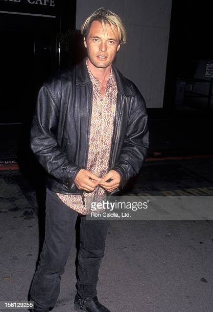 Actor James Wilder attends the 'Allie Me' Universal City Premiere on October 17 1997 at Screening Room 2 Universal Studios in Universal City...