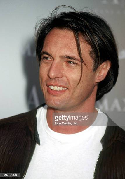 Actor James Wilder attends the A/X Armani Exchange 10th Year Anniversary After Party Hosted By Maxim Magazine on August 23 2001 at the Buffalo Club...