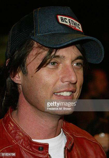 Actor James Wilder attends the film premiere of This Girl's Life at the Regent Theater on October 20 2004 in Los Angeles California