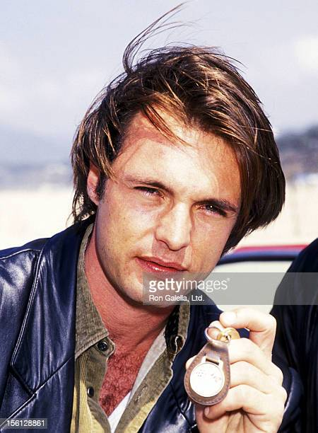Actor James Wilder attends the MulitFaceted KickOff Rally to Celebrating the NBC's New Show 'Route 66' on June 3 1993 at the Santa Monica Pier in...