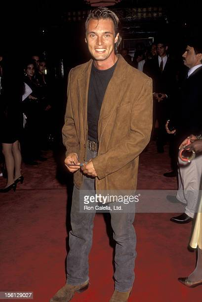 Actor James Wilder attends the 'Where the Day Takes You' Hollywood Premiere on September 8 1992 at Mann's Chinese Theatre in Hollywood California