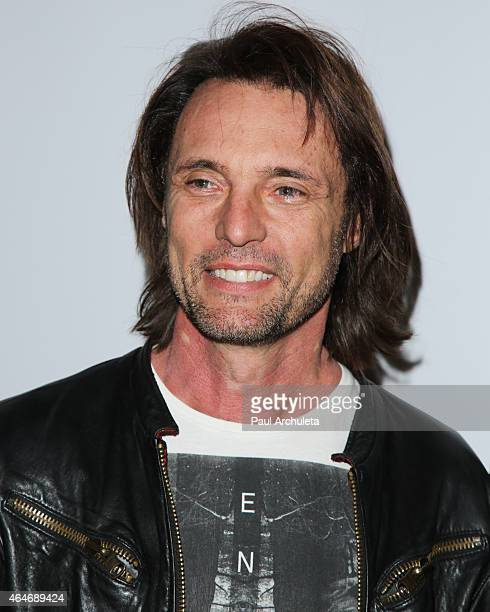 Actor James Wilder attends the 'White Rabbit' premiere at The Laemmle Music Hall on February 13 2015 in Beverly Hills California