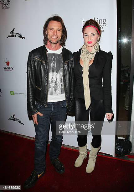 Actor James Wilder attends the White Rabbit premiere at The Laemmle Music Hall on February 13 2015 in Beverly Hills California