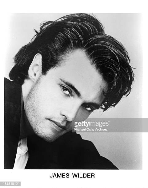 Actor James Wilder headshot for the movie Murder One in 1988