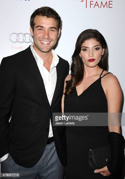 Actor James Wolk and actress Amanda Setton attend the Television Academy's 23rd Hall of Fame induction gala at Regent Beverly Wilshire Hotel on March...