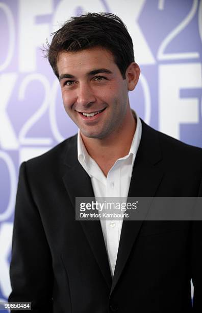 Actor James Wolk attends the 2010 FOX Upfront after party at Wollman Rink Central Park on May 17 2010 in New York City