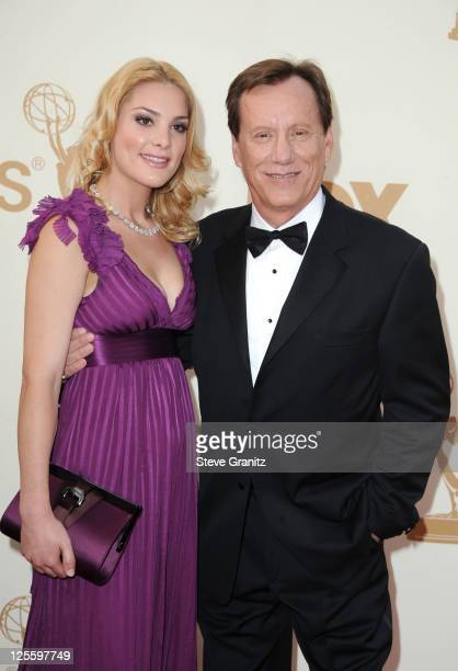 Actor James Woods and Ashley Madison arrive to the 63rd Primetime Emmy Awards at the Nokia Theatre L.A. Live on September 18, 2011 in Los Angeles,...
