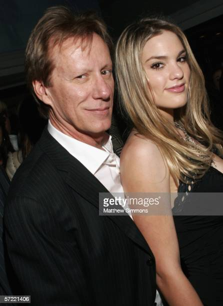 Actor James Woods and girlfriend Ashley Madison attend the The Young Hollywood Awards Countdown Party at Primary Action Liberaces Penthouse on March...
