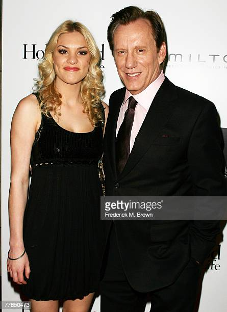 Actor James Woods and his guest attend the Fifth Annual Hamilton and Hollywood Life's Behind the Camera Awards at the Highlands on November 11, 2007...
