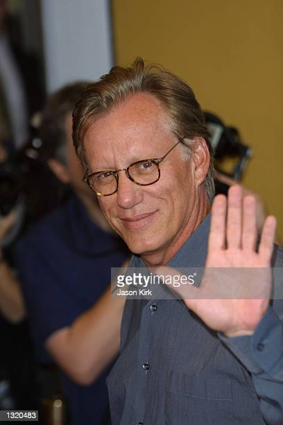 """Actor James Woods arrives at the world premiere of the film """"Lara Croft: Tomb Raider"""" June 11, 2001 in Westwood, CA."""