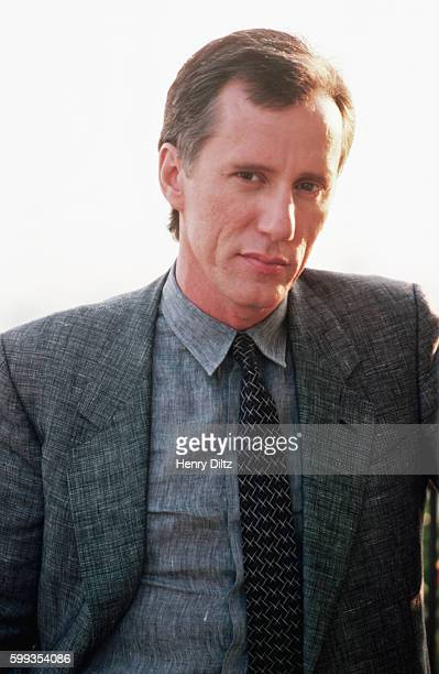 Actor James Woods attends the filming of a Bob Seger music video at the Bel Age Hotel in Los Angeles
