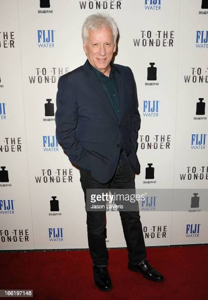 Actor James Woods attends the premiere of To The Wonder at Pacific Design Center on April 9 2013 in West Hollywood California