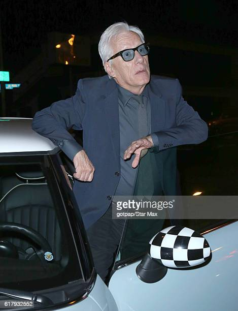 Actor James Woods is seen on October 24 2016 in Los Angeles California