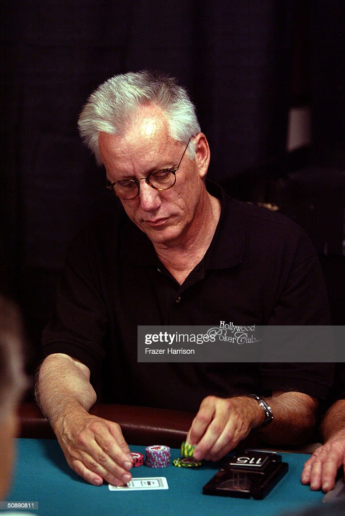 Actor James Woods plays in the 2004 World Series of Poker Tournament held at the Binion's Horseshoe Hotel and Casino May 23, 2004 in Las Vegas, Nevada.