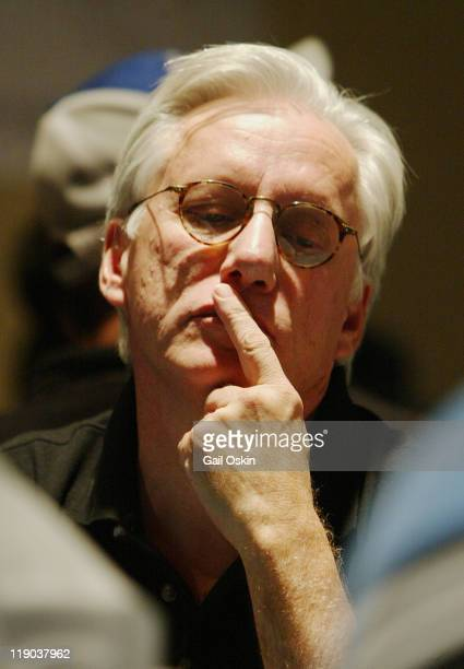 Actor James Woods plays poker at the Foxwoods Resort Casino during the 2004 World Poker Finals in Ledyard Connecticut Sunday November 14 2004 World...