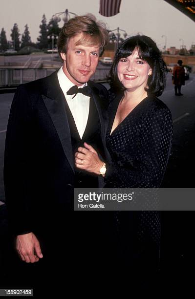 Actor Jameson Parker and wife Bonnia Parker attend CBS TV Affiliates Party on May 11 1983 at the Century Plaza Hotel in Century City California