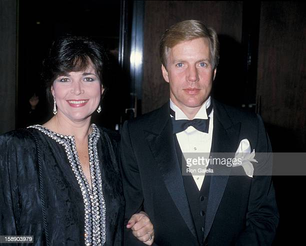 Actor Jameson Parker and wife Bonnie Parker attend the Association of Troubled Children on November 8 1986 at the Century Plaza Hotel in Century City...